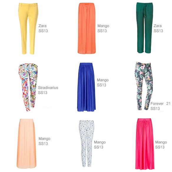 15colgadasdeunapercha_must-have_maxifalda color pantalon color floral pants