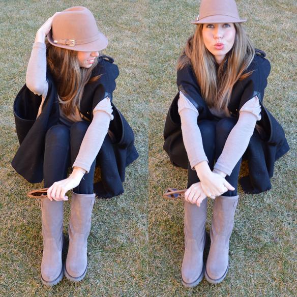 15colgadasdeunapercha_fw1314_camel_negro_black_hat_capa_cape_cp2