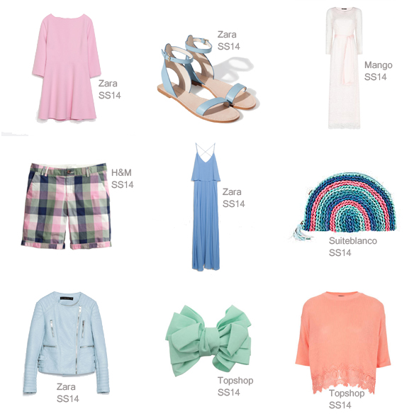 15colgadasdeunapercha_must-have_SS_14_PV_14_colores_pastel_colors_azul_candy_blue_mint_pale_pink_rosa_palo_blanco_roto_añil