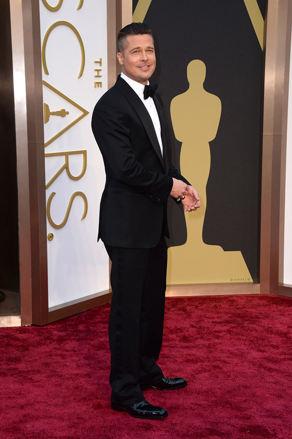 15colgadasdeunapercha_Oscar_2014_Brad_Pitt