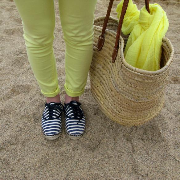 15colgadasdeunapercha_must_have_SS_14_PV_14_vestido_camisero_rayas_amarillo_yellow_shirt_dress_stripes_carla_kissler_4