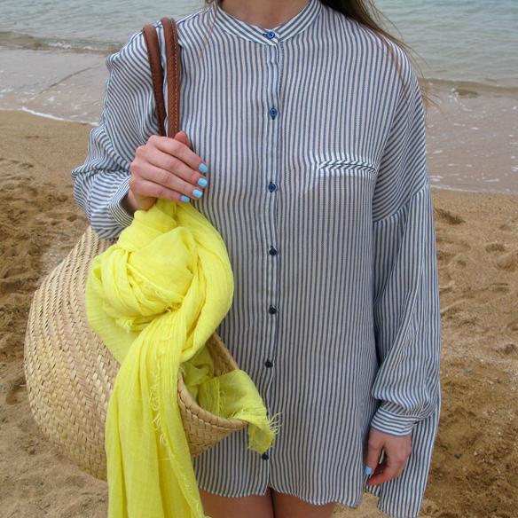 15colgadasdeunapercha_must_have_SS_14_PV_14_vestido_camisero_rayas_amarillo_yellow_shirt_dress_stripes_carla_kissler_8