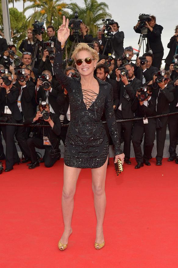 15colgadasdeunapercha_festival_cine_cannes_2014_celebrities_famosas_sharon_stone_1