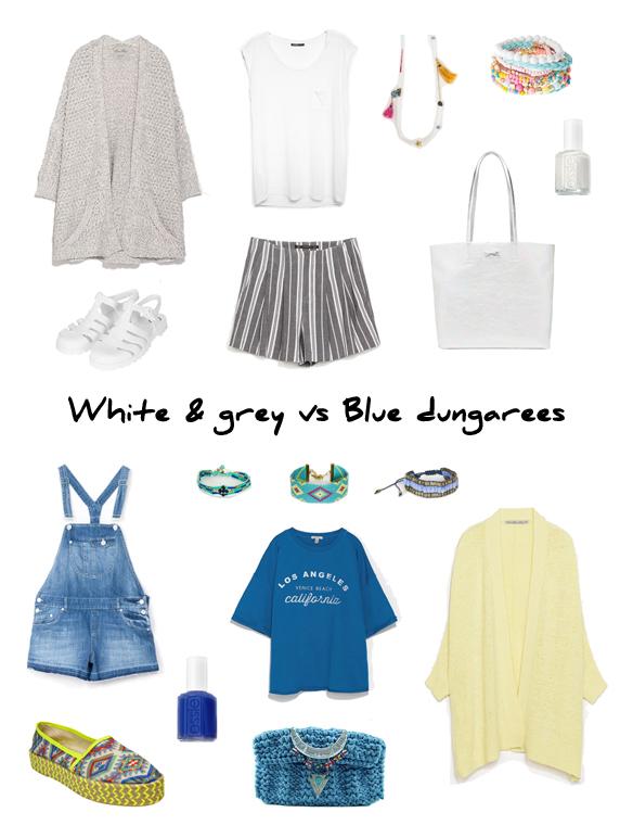 15colgadasdeunapercha_finde_looks_white_&_grey_saturday_vs_blue_dungarees_sunday_portada