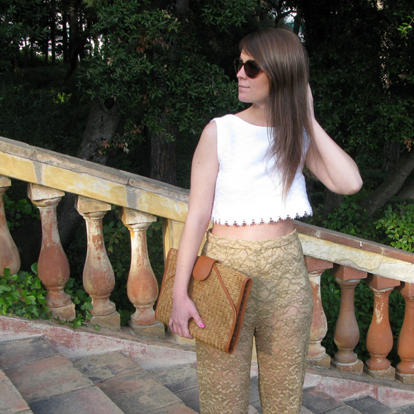 15colgadasdeunapercha_san_juan_saint_john_pantalon_palazzo_pants_crop_top_encaje_lace_orange_naranja_lila_purple_carla_kissler_9
