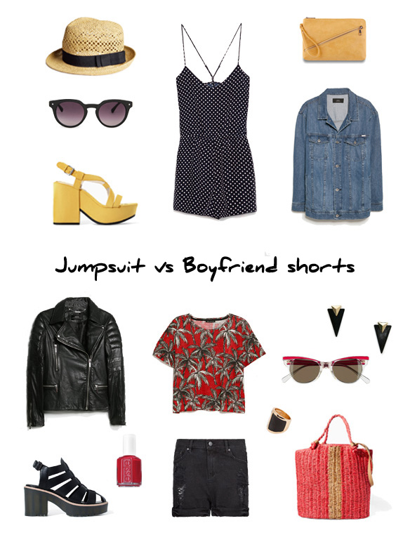 15colgadasdeunapercha_finde_looks_jumpsuit_saturday_vs_boyfriend_shorts_sunday_portada