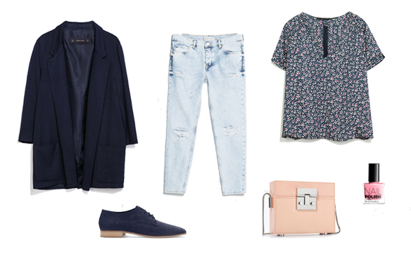 15colgadasdeunapercha_finde_looks_grey_saturday_vs_navy_blue_and_pink_sunday_2