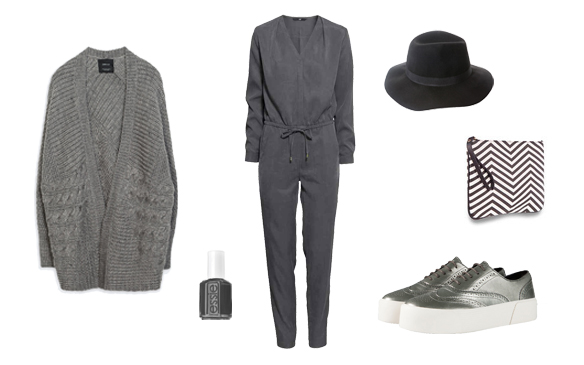 15colgadasdeunapercha_finde_looks_grey_jumpsuit_saturday_sabado_mono_gris_vs_grey_cat_eyes_sunday_domingo_cat_eyes_gris_1