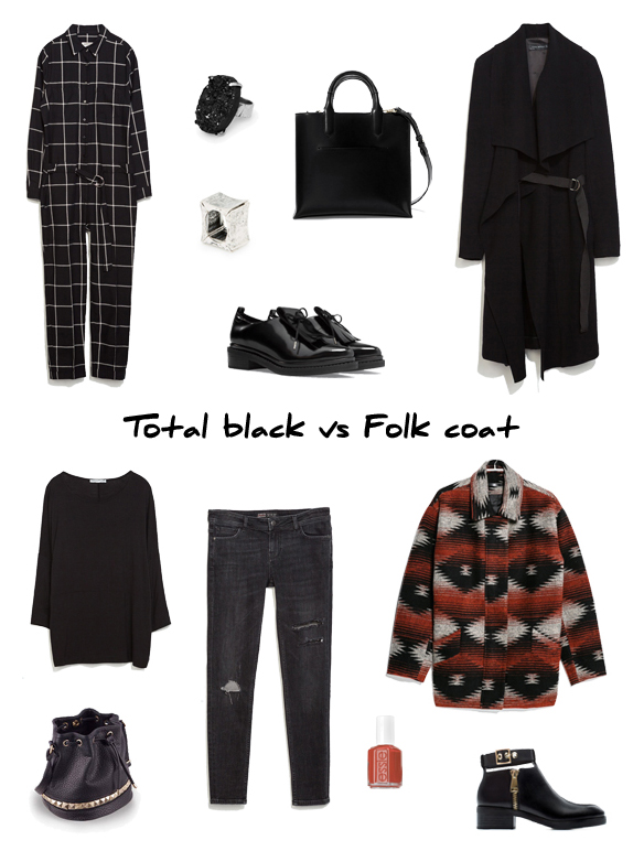 15colgadasdeunapercha_finde_looks_total_black_saturday_sabado_vs_abrigo_folk_coat_sunday_domingo_portada