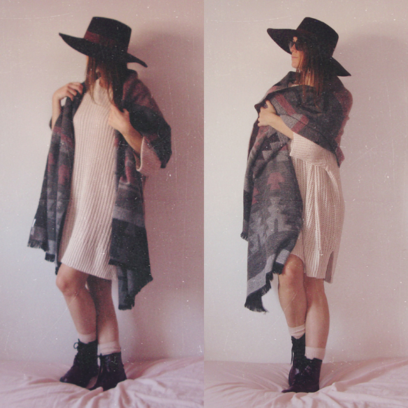 15colgadasdeunapercha_rosa_pink_burdeos_burgundy_pimkie_manta_blanket_sombrero_hat_maxi_jersey_XL_jumper_socks_calcetines_carla_kissler_9
