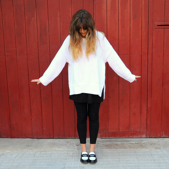 15colgadasdeunapercha_fall_otoño_2014_kimono_b&w_black_and_white_blanco_y_negro_mocasines_loafers_anna_duarte_5