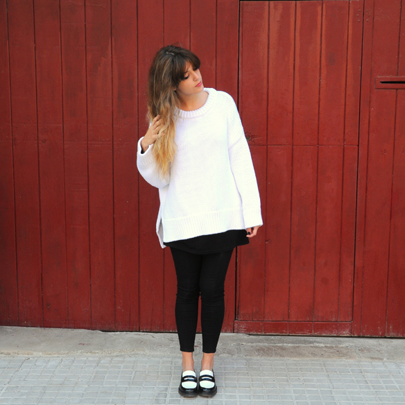 15colgadasdeunapercha_fall_otoño_2014_kimono_b&w_black_and_white_blanco_y_negro_mocasines_loafers_anna_duarte_6
