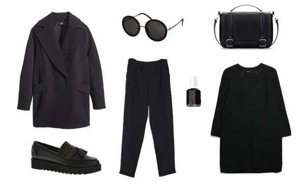 15colgadasdeunapercha_finde_looks_total_black_look_saturday_sabado_negro_vs_total_white_look_sunday_domingo_blanco_1