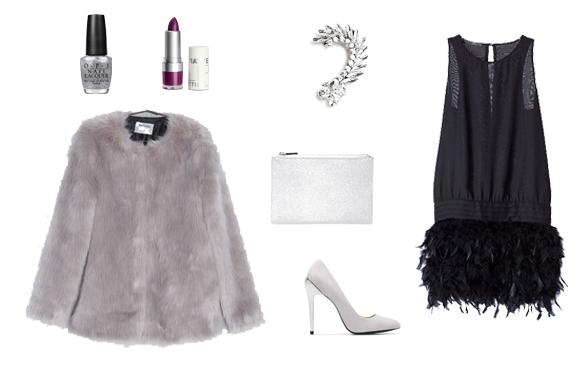 15colgadasdeunapercha_finde_looks_silver_feathers_sunday_domingo_plata_plumas