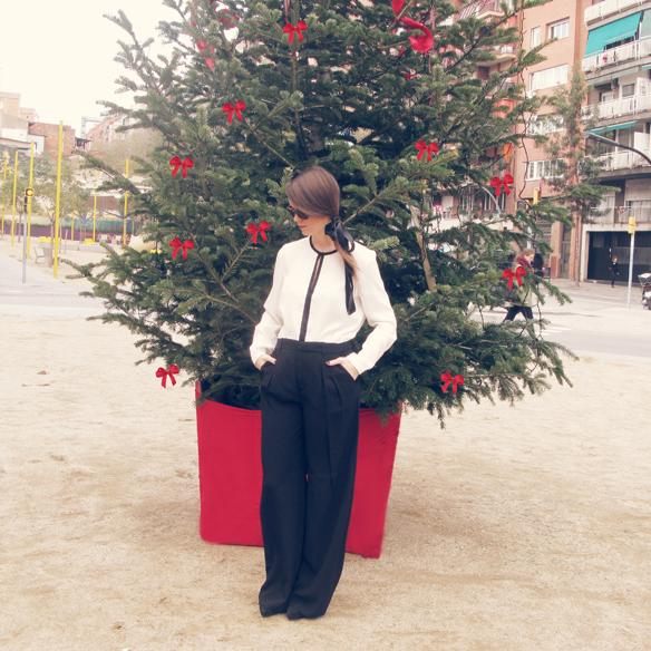 15colgadasdeunapercha_navidad_christmas_b&w_black_and_white_blanco_y_negro_palazzo_pants_cinta_pelo_headband_carla_kissler_10