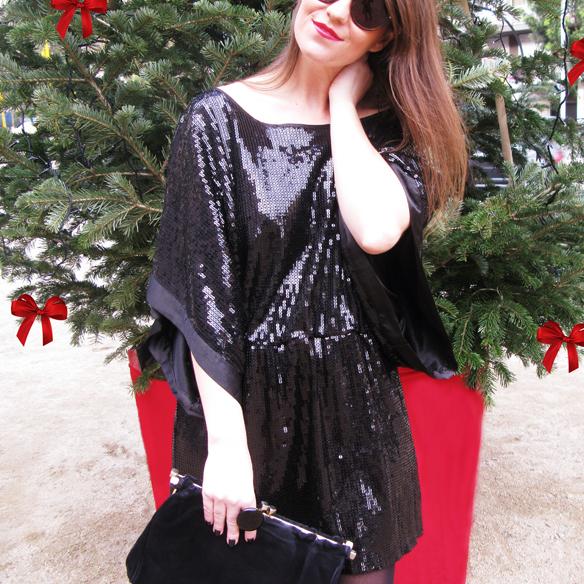 15colgadasdeunapercha_navidad_christmas_total_black_look_paillettes_negro_lbd_kimono_carla_kissler_3