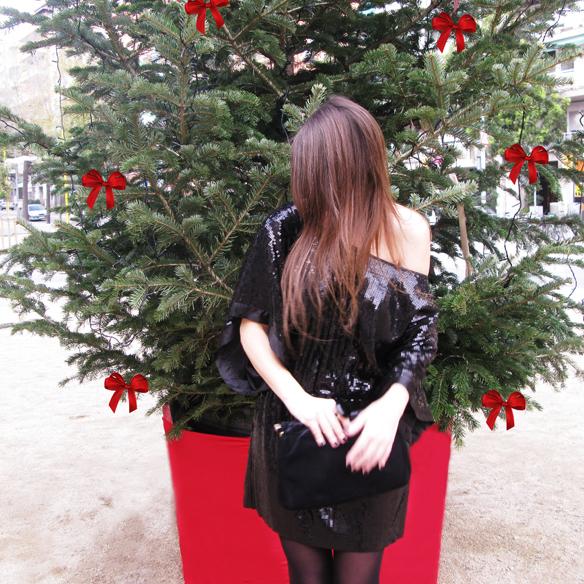 15colgadasdeunapercha_navidad_christmas_total_black_look_paillettes_negro_lbd_kimono_carla_kissler_4