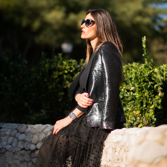 15colgadasdeunapercha_total_black_look_negro_plumeti_blazer_cat_eyes_sunglasses_ana_crank_3