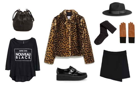 15colgadasdeunapercha_finde_looks_skirt_animal_print_sunday_domingo_falda