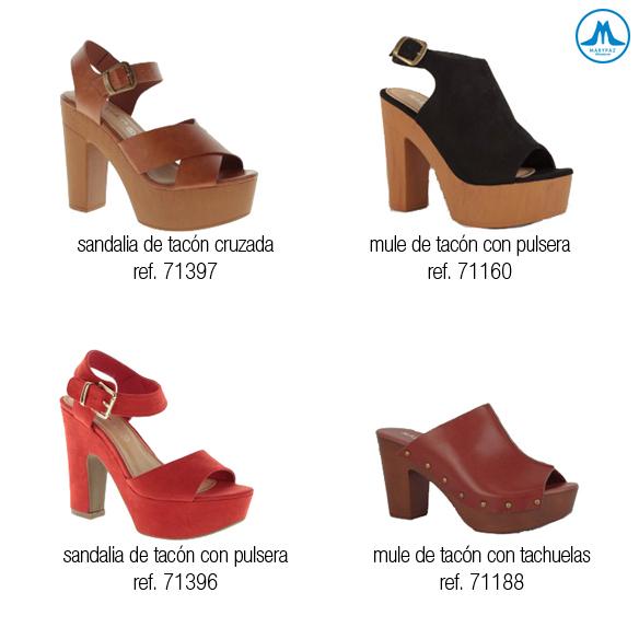 Zuecos Zapatos zueco Marypaz Mary Paz 53AR4Lj