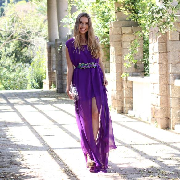 15colgadasdeunapercha_bodas_weddings_transparencias_marta_marti_atelier_lila_purple_cinturon_flores_floral_belt_clutch_transparente_julia_ros_1