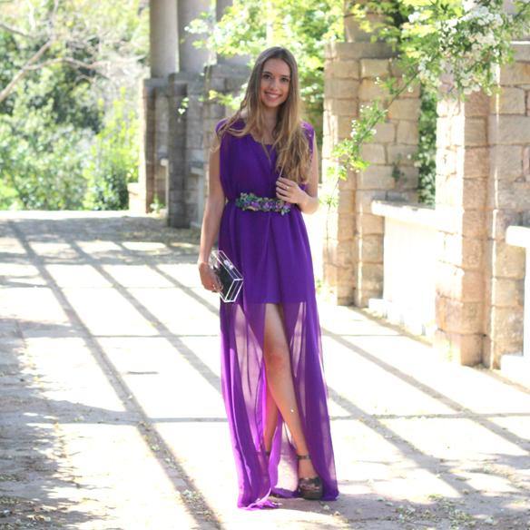 15colgadasdeunapercha_bodas_weddings_transparencias_marta_marti_atelier_lila_purple_cinturon_flores_floral_belt_clutch_transparente_julia_ros_4