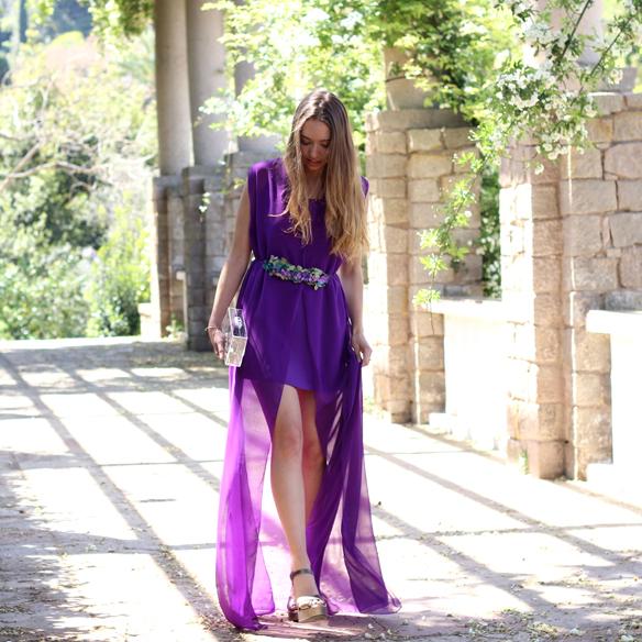 15colgadasdeunapercha_bodas_weddings_transparencias_marta_marti_atelier_lila_purple_cinturon_flores_floral_belt_clutch_transparente_julia_ros_8