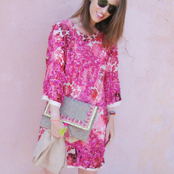 15colgadasdeunapercha-san-juan-verbena-luxury-caftan-lujo-rosa-pink-flores-floral-marta-r-2