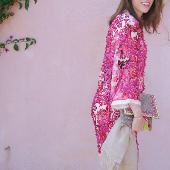 15colgadasdeunapercha-san-juan-verbena-luxury-caftan-lujo-rosa-pink-flores-floral-marta-r-3