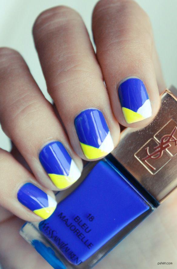 15colgadasdeunapercha-maquillaje-make-up-verano-summer-2015-manicura-color-block-manicure-nails-uñas-4