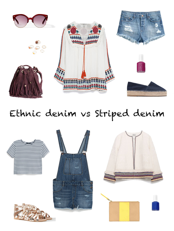 15-colgadas-de-una-percha-finde-looks-weekend-outfits-denim-ethnic-etnico-shorts-tejanos-sabado-saturday-stripes-rayas-dungarees-peto-tejano-domingo-sunday