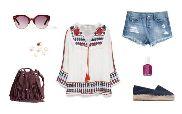 15-colgadas-de-una-percha-finde-looks-weekend-outfits-denim-ethnic-etnico-shorts-tejanos-sabado-saturday