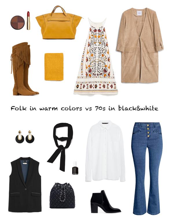 15-colgadas-de-una-percha-finde-looks-weekend-outfits-folk-warm-colors-colores-calidos-sabado-saturday-años-70-blanco-y-negro-70s-black-&-white-domingo-sunday