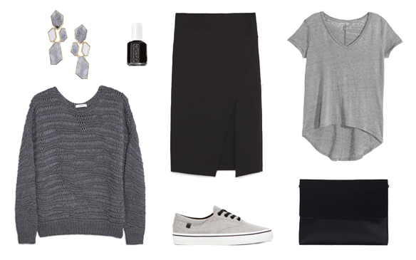 15-colgadas-de-una-percha-finde-looks-weekend-outfits-sporty-midi-skirt-falda-midi-grey-gris-domingo-sunday