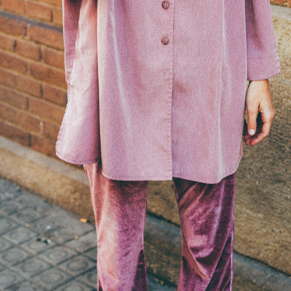15-colgadas-de-una-percha-bebofi-chandal-acampanado-terciopelo-camisa-xl-velvet-tracksuit-flared-pants-extra-large-shirt-vintage-7