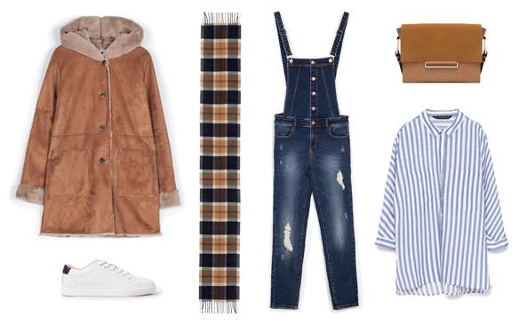 15-colgadas-de-una-percha-finde-looks-weekend-outfits-camisa-peto-sabado-saturday-shirt-dungarees