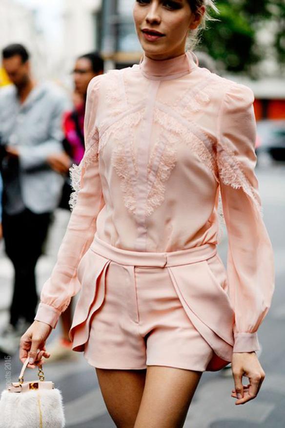 Elena Perminova on Rue Cambon for Elie Saab Haute Couture, Paris, PFW FW15.