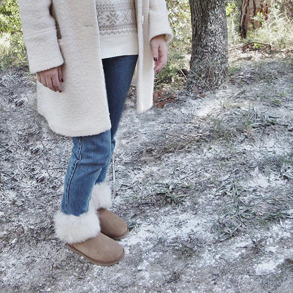 15-colgadas-de-una-percha-carla-kissler-white-teddy-coat-blanco-gorro-cap-estola-pelo-fur-stole-botas-uggs-booties-tretze-sabates-treze-7