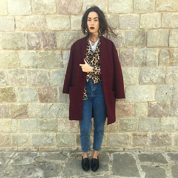 15-colgadas-de-una-percha-blanche-animal-print-leopard-biker-chaqueta-leopardo-abrigo-burdeos-burgundy-coat-mocasines-loafers-10